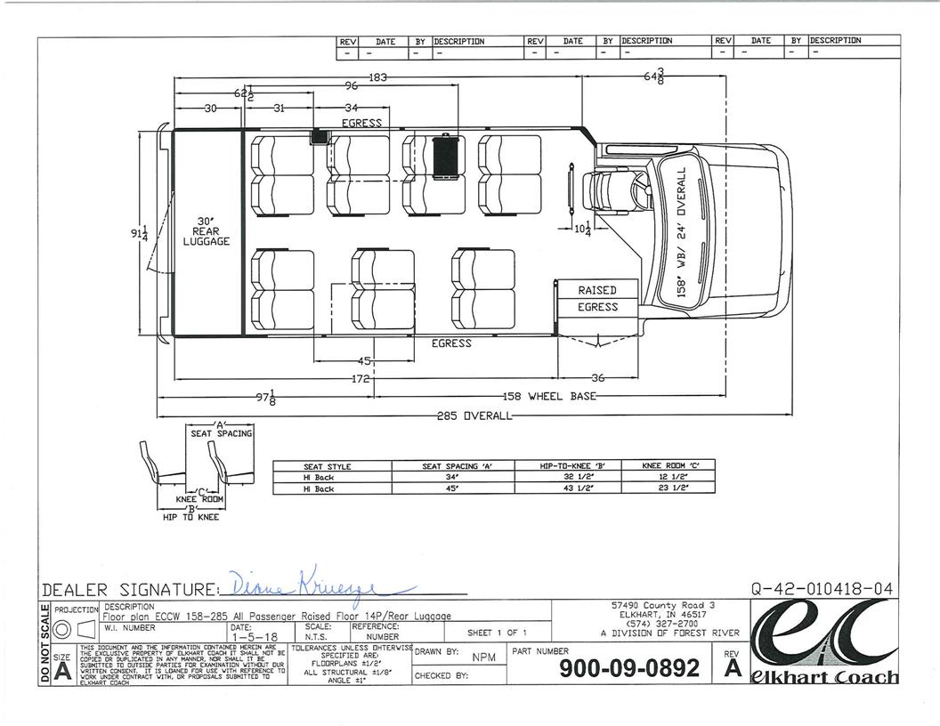 Elkhart Coach Wiring Diagram Libraries Shuttle Bus Diagrams Third Levelstock Ec10194 2018 14 Passenger U0026