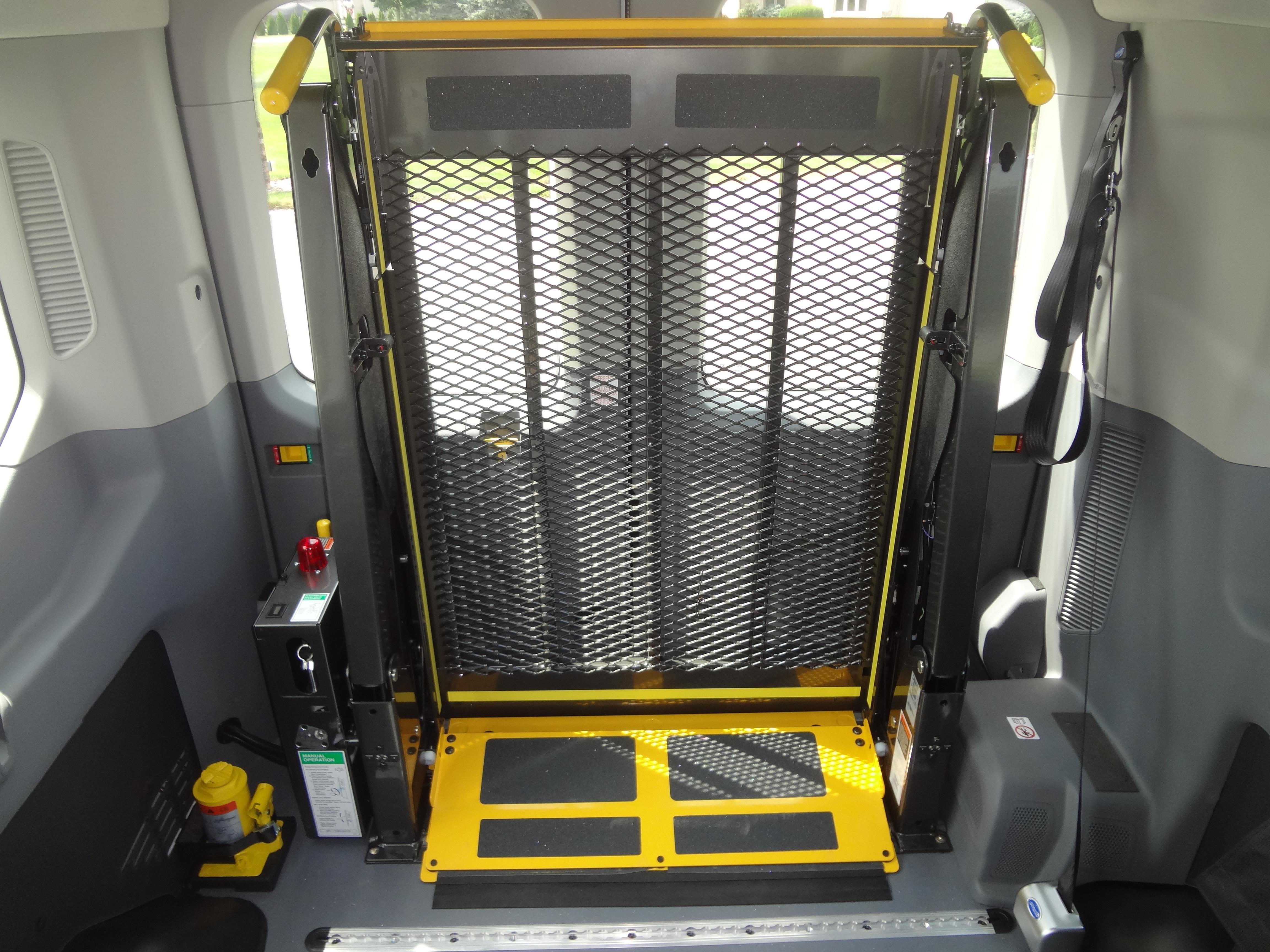 Ford Transit Passenger Van >> TESCO - Ford Transit Van with Rear Wheelchair Lift