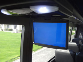 Flip Down TV/DVD Combo