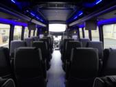2022 Turtle Top Odyssey XL Ford 28 Passenger Luxury Bus Interior-108740-12