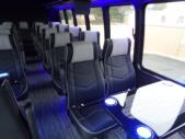 2022 Turtle Top Odyssey XL Ford 28 Passenger Luxury Bus Interior-108740-13