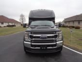 2022 Turtle Top Odyssey XL Ford 28 Passenger Luxury Bus Front exterior-108740-7