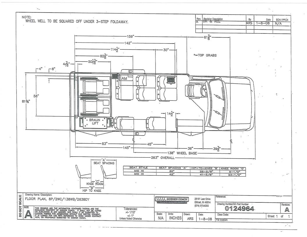 Goshen Coach Pacer Ii Bus With A Ford E350 Drw Chassis Keystone Wiring  Diagrams Goshen Coach Wiring Diagrams