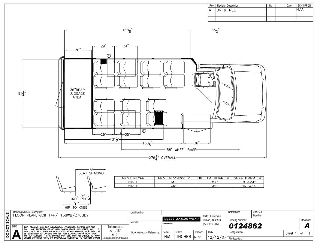 floorplan goshen coach impulse bus with a ford e350 chassis goshen coach wiring diagrams at bayanpartner.co