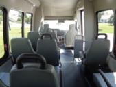 2018 Turtle Top VanTerra Ford 14 Passenger Shuttle Bus Interior-397003-11