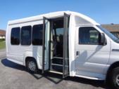 2018 Turtle Top VanTerra Ford 14 Passenger Shuttle Bus Interior-397003-9