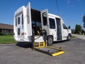 2021 Turtle Top VanTerra XL Ford 9 Passenger and 2 Wheelchair Shuttle Bus Interior-397257-10