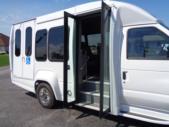2021 Turtle Top VanTerra XL Ford 9 Passenger and 2 Wheelchair Shuttle Bus Interior-397257-11