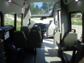 2021 Turtle Top VanTerra XL Ford 9 Passenger and 2 Wheelchair Shuttle Bus Interior-397257-13