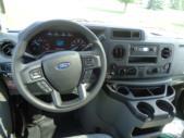 2021 Turtle Top VanTerra XL Ford 9 Passenger and 2 Wheelchair Shuttle Bus Interior-397257-19