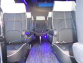 2022 Turtle Top VanTerra Ford 13 Passenger Luxury Bus Interior-397306-10