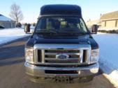 2022 Turtle Top VanTerra Ford 13 Passenger Luxury Bus Front exterior-397306-7