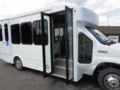 2021 Turtle Top Terra Transit Ford 12 Passenger and 2 Wheelchair Shuttle Bus Interior-501334-11