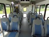 2021 Turtle Top Terra Transit Ford 12 Passenger and 2 Wheelchair Shuttle Bus Interior-501334-12