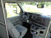 2021 Turtle Top Terra Transit Ford 12 Passenger and 2 Wheelchair Shuttle Bus Interior-501334-18