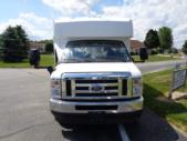 2021 Turtle Top Terra Transit Ford 12 Passenger and 2 Wheelchair Shuttle Bus Front exterior-501334-7