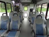 2021 Turtle Top Terra Transit Ford 12 Passenger and 2 Wheelchair Shuttle Bus Interior-501336-12