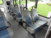 2021 Turtle Top Terra Transit Ford 12 Passenger and 2 Wheelchair Shuttle Bus Interior-501336-14