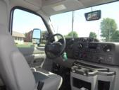 2021 Turtle Top Terra Transit Ford 14 Passenger Shuttle Bus Interior-501340-18