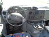 2021 Turtle Top Terra Transit Ford 14 Passenger Shuttle Bus Interior-501353-17