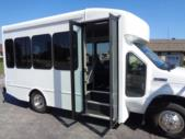 2021 Turtle Top Terra Transit Ford 14 Passenger Shuttle Bus Interior-501353-9