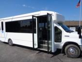 2020 Turtle Top Terra Transit Ford 6 Passenger and 3 Wheelchair Shuttle Bus Interior-501392-10