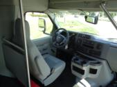 2020 Turtle Top Terra Transit Ford 6 Passenger and 3 Wheelchair Shuttle Bus Interior-501392-18