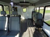 2020 Turtle Top Terra Transit Ford 0 Passenger and 7 Wheelchair Shuttle Bus Interior-501539-11