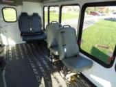 2020 Turtle Top Terra Transit Ford 0 Passenger and 7 Wheelchair Shuttle Bus Interior-501539-14