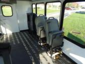 2020 Turtle Top Terra Transit Ford 0 Passenger and 7 Wheelchair Shuttle Bus Interior-501539-15