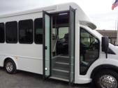 2020 Turtle Top Terra Transit LD Ford 7 Passenger and 3 Wheelchair Shuttle Bus Interior-501617-11