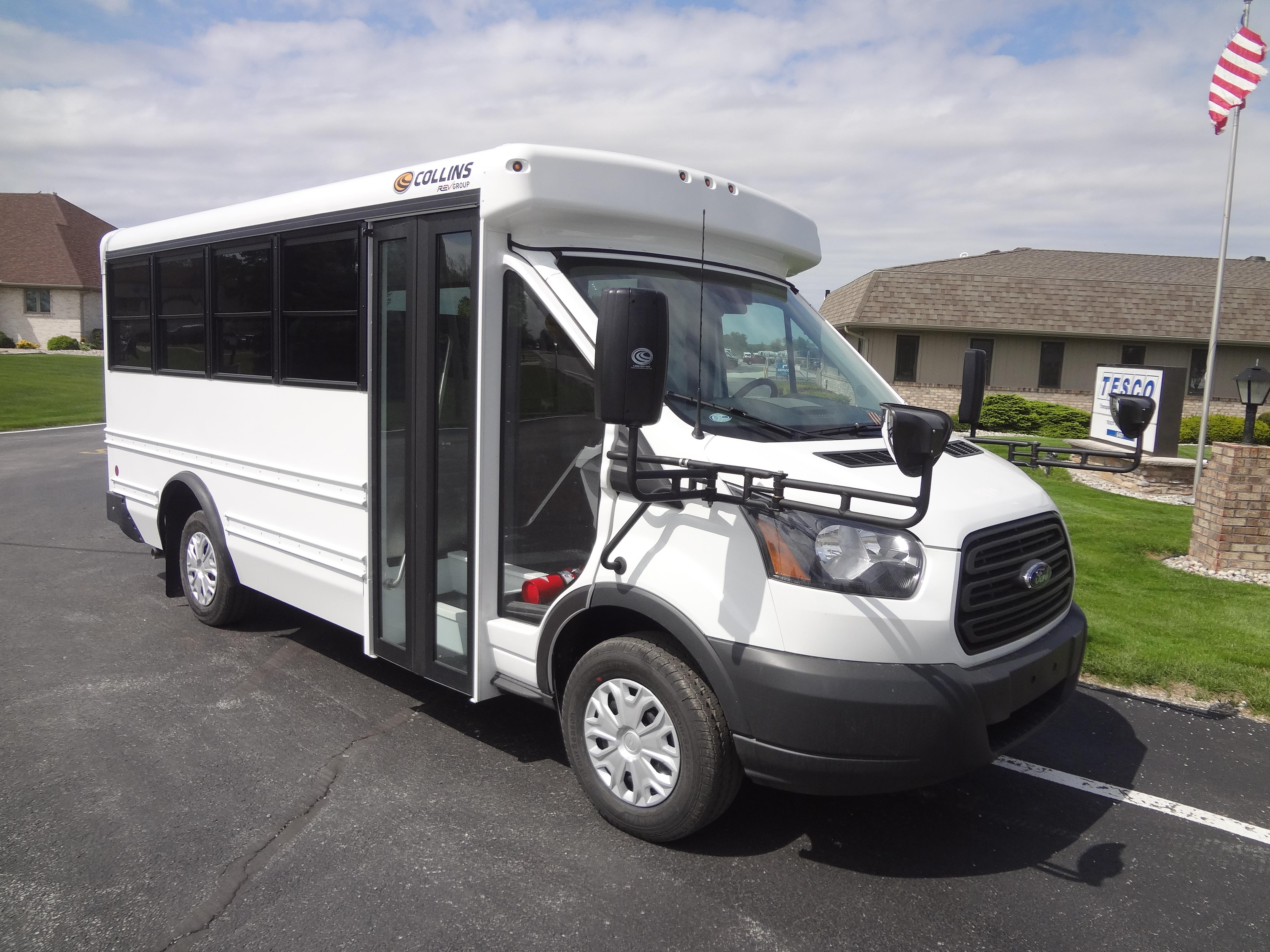 2017 Collins Nexbus Ford 14 Passengers And 0 Wheelchairs