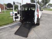 2021 Ford Transit Ford 3 Passenger and 1 Wheelchair Van Interior-ATS1153-10