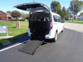 2021 Ford Transit Connect Ford 3 Passenger and 1 Wheelchair Van Interior-ATS5968-10