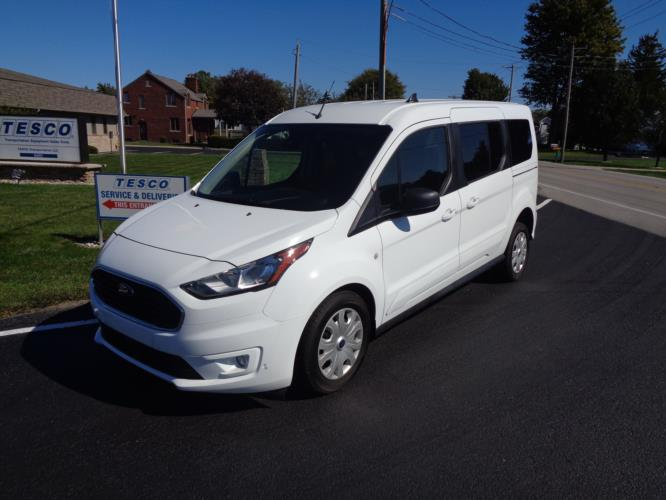 2021 Ford Transit Connect Ford 3 Passenger and 1 Wheelchair Van Driver side exterior front angle-ATS5968-2