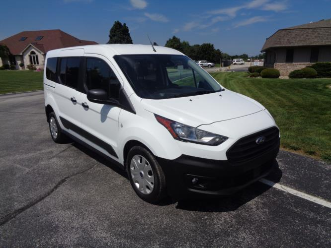 2021 Ford Transit Connect Ford 3 Passenger and 1 Wheelchair Van Passenger side exterior front angle-ATS6137-1