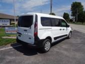 2021 Ford Transit Connect Ford 3 Passenger and 1 Wheelchair Van Passenger side exterior rear angle-ATS6137-3