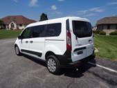 2021 Ford Transit Connect Ford 3 Passenger and 1 Wheelchair Van Driver side exterior rear angle-ATS6137-4