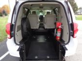 2019 Braun Entervan Dodge 4 Passenger and 1 Wheelchair Van Interior-B339624-10