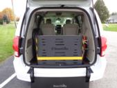 2019 Braun Entervan Dodge 4 Passenger and 1 Wheelchair Van Interior-B339624-9