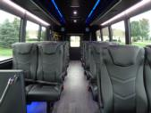 2020 Berkshire Coach Ultra 28 Ford 18 Passenger and 2 Wheelchair Shuttle Bus Interior-BERK1996-12