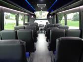 2020 Berkshire Coach Ultra 28 Ford 18 Passenger and 2 Wheelchair Shuttle Bus Interior-BERK1996-13