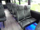 2020 Berkshire Coach Ultra 28 Ford 18 Passenger and 2 Wheelchair Shuttle Bus Interior-BERK1996-14