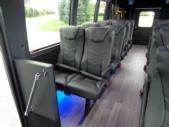 2020 Berkshire Coach Ultra 28 Ford 18 Passenger and 2 Wheelchair Shuttle Bus Interior-BERK1996-15