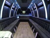 2020 Berkshire Coach Ultra 34 Ford 28 Passenger Luxury Bus Interior-BERK2089-10