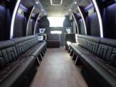 2020 Berkshire Coach Ultra 34 Ford 28 Passenger Luxury Bus Interior-BERK2089-11