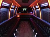 2020 Berkshire Coach Ultra 34 Ford 28 Passenger Luxury Bus Interior-BERK2089-12