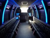 2020 Berkshire Coach Ultra 34 Ford 28 Passenger Luxury Bus Interior-BERK2089-13