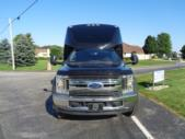 2020 Berkshire Coach Ultra 34 Ford 28 Passenger Luxury Bus Front exterior-BERK2089-7