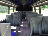 2021 Berkshire Coach Ultra 28 Ford 23 Passenger Luxury Bus Interior-BERK2112-11